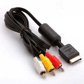 CABLE PLAYSTATION2 Y PLAYSTATION3 PS2/PS3 AV 3xRCA