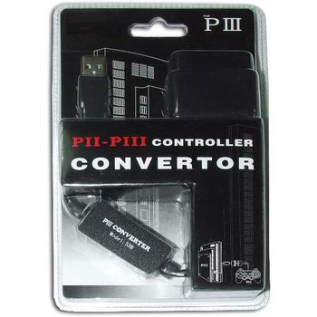 1 Remote control PS2 to PS3 and PC USB adapter