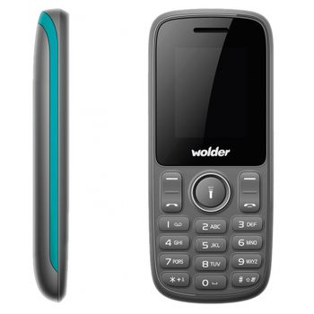 TELEFONO MOVIL WOLDER A21 DUAL SIM 2G BT TF RADIO