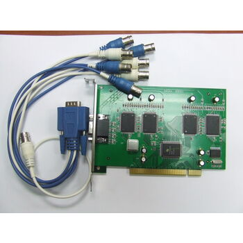 TARJETA VIDEOVIGILANCIA CCTV PCI 4C VIDEO 4C AUDIO