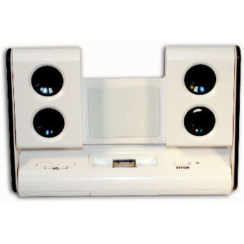 BASE CON MINI ALTAVOCES ISOUND PARA IPOD