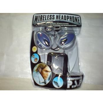 HEADPHONES WIRELESS PSP BLUE PG-DD