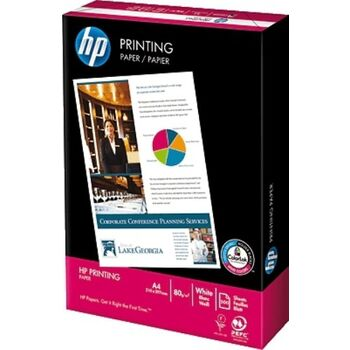 PAPEL IMPRESION HP A4 80GR PAQUETE 500