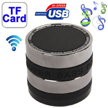 ALTAVOCES MINI BLUETOOTH TARJETA SD