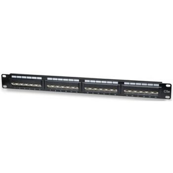 PATCH PANEL PARCHEO 24P UTP CAT5E WPC-PAN-5U-24