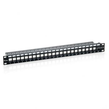 PATCH PANEL 24 PUERTOS KEYSTONE UTP CAT.6A VACIO