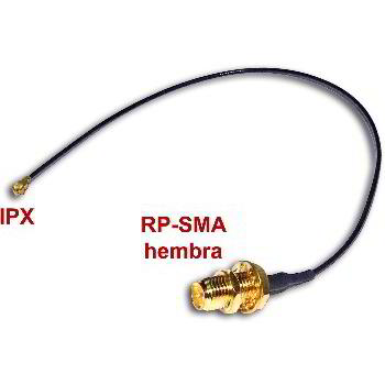 IPX TO RP-SMA-FEMALE ADAPTER CABLE