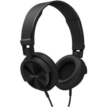 AURICULARES STEREO DJ PHILIPS SHL 3000N NEGROS