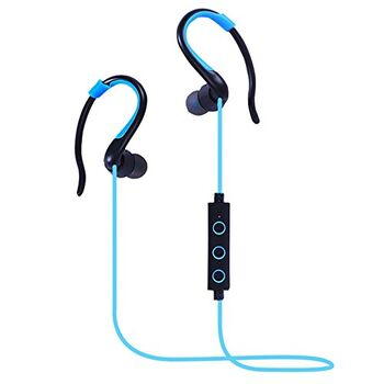 AURICULARES BT-008 SPORT BLUETOOTH STEREO AZULES