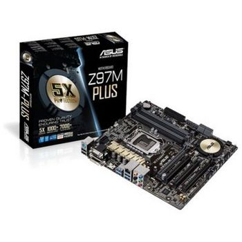 PLACA BASE S1150 ASUS Z97M-PLUS 4DDR3 SATA6X6 RAID