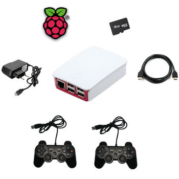 KIT RASPBERRY PI 3 ARCADE 2 MANDOS 16GB WIFI LAN