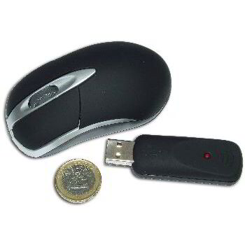 RATON USB OPTICO INALAMBRICO NEGRO SATYCON