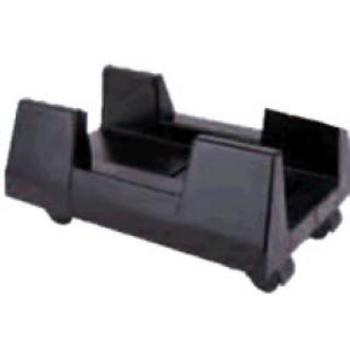 UNIVERSAL CPU HOLDER WITH WHEELS BLACK SATYCON
