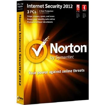 ANTIVIRUS NORTON INTERNET SECURITY 2012 3 PCS