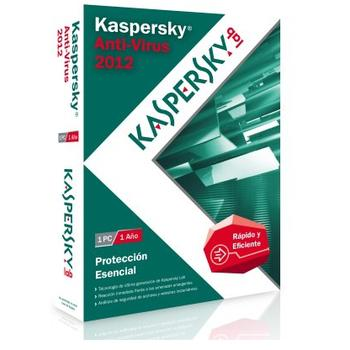 ANTIVIRUS KASPERSKY 2012 1PC