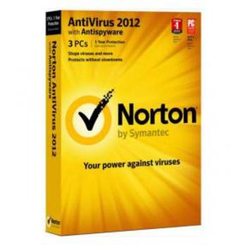 ANTIVIRUS NORTON ANTIVIRUS 2012 1US 3L