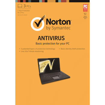 ANTIVIRUS NORTON ANTIVIRUS 2013 3PC
