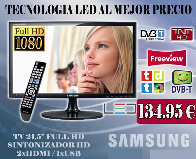 LA MEJOR OPCION CALIDAD-PRECIO TV SAMSUNG                    T22B300