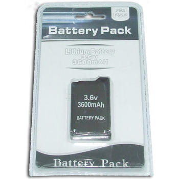 BATTERY lithium PSP1000 FAT 3600 mAh SATYCON