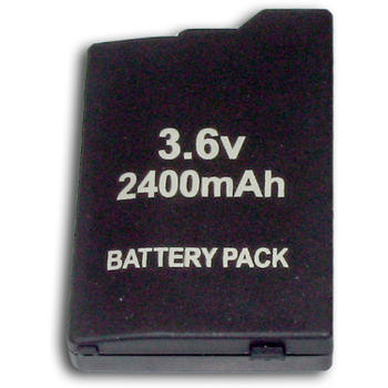 LITHIUM battery PSP 2000/3000 SLIM 2400 mAh SATYCON