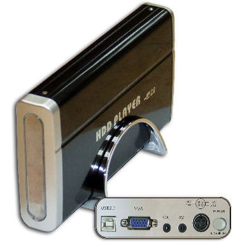 OUTLET BOX EXTERNAL HDD IDE 3.5