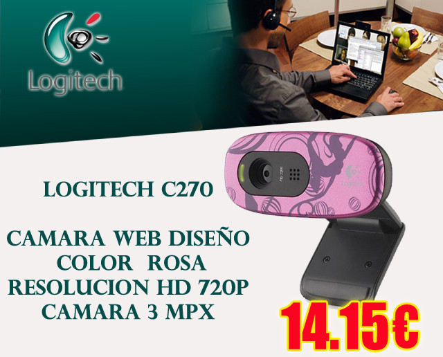WEBCAM DISE?O LOGITECH C270