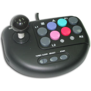 JOYSTICK PS2 ULTRADUAL VIBRATION SATYCON C.NEGRO
