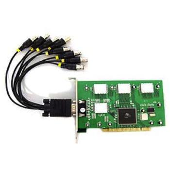 OUTLET CARD PCI SATYCON 8 C + AUDIO MOD. PCI-81200
