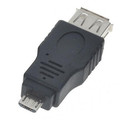 USB FEMALE TO MICRO USB MALE OTG 5 P CONNECTOR