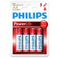 Philips battery alkaline LR6 AA PACK-4