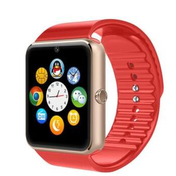 SMARTWATCH GT08 SIM SD BLUETOOTH BT ROJO