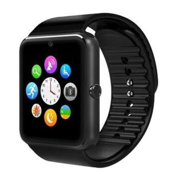SMARTWATCH GT08 SIM SD BLUETOOTH BT NEGRO