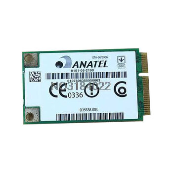 ANATEL HP WLAN MINI PCIEXPRESS CARD