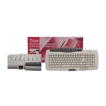 Z-OUTLET TECLADO PC USB ESPAÑOL TRUE-TOUCH