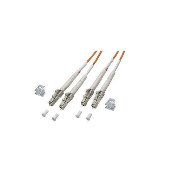 CABLE FIBRA OPTICA LC/LC DUPLEX MULTIMODO 20M