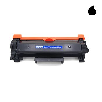 TONER BROTHER NEGRO TN2410 / TN2420 CON CHIP 3000P