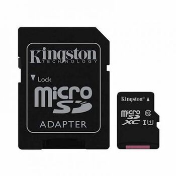 MEMORIA MICROSDHC C10 64GB KINGSTON + ADAPTADOR