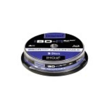 BLURAY INTENSO 25GB 4X BD-R RECORDABLE TARRINA 5U