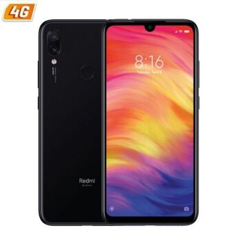 SMARTPHONE XIAOMI REDMI NOTE 7 BLACK 6.3 4GB 128GB