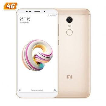 MOVIL SMARTPHONE XIAOMI REDMI 5 PLUS 4GB 64GB GOLD
