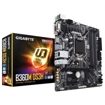 PLACA BASE GIGABYTE INTEL GA-B360M DS3H 1151-G8 4X