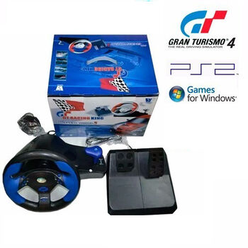 VOLANTE GT RACING KING 4 (PS2/3/WINDOWS)