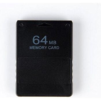 MEMORY CARD PLAYSTATION 2 PS2 64MB COMPATIBLE