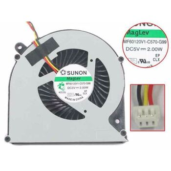 SUNON MF60120V1-C570-G99 Cooling Fan 5V 2.0W 3 PIN