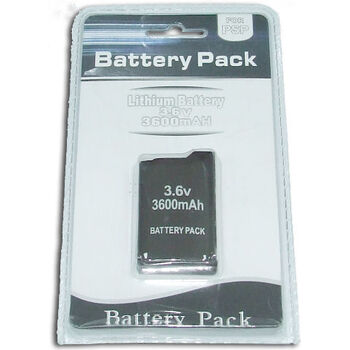 BATERIA LITIO PSP1000 FAT 3600 mAh SATYCON