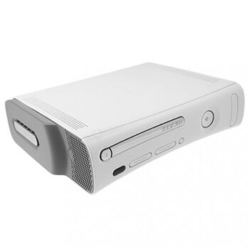 CONSOLA MICROSOFT XBOX360 FAT BLANCA REACONDICIONA