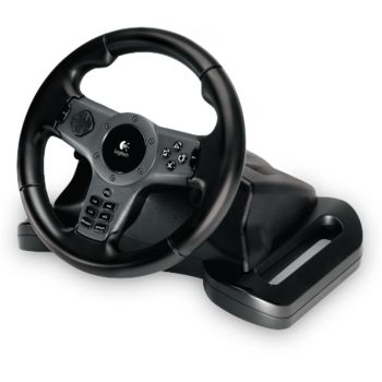 VOLANTE LOGITECH DRIVING FORCE WIRELESS PS3 USADO