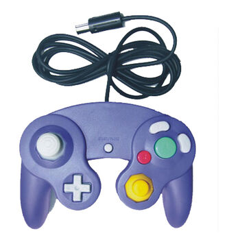 MANDO COMPATIBLE GAME CUBE ULTRA DUAL JOYPAD AZUL