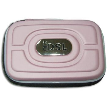 FUNDA SEMI-RIGIDA DSL/DSi/3DS COLOR ROSA CLARO