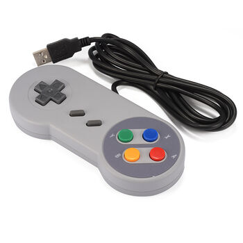 MANDO GAMEPAD CLASSIC SUPER NES USB PC RASPBERRY